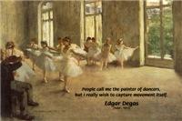 Edgar Degas: Painter of Dancers & Movement