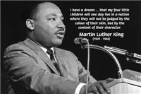 Martin Luther King Jr. 'I have a dream'