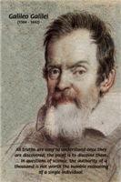 Error of Conformity: Galileo Science Discovery
