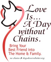 Love Is...A Day Without Chains.