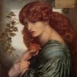 Proserpine by Rossetti, 1882