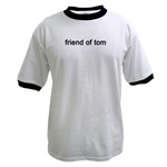 MENS - Friend of Tom Myspace T-shirts