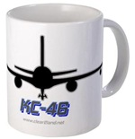 KC-46 Drinkware with Text