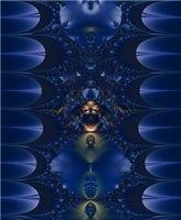 Deep Blue Fractal