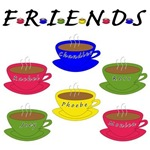 Friends Cups Of Coffee