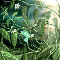Lilly Flower Leaf Dragon