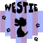 Westie Blue/Purple Stripe