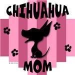 Chihuahua Mom - Pink Stripe