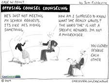 10/12/2009 - Opposing Counsel Counseling