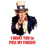 I want you to pull my finger!