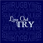 Line Out and Try Rugby