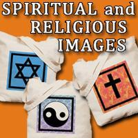 Spiritual Designs on Totebags