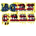 Born Free with Rock and Roll Font