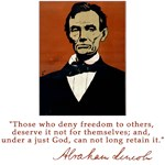 Lincoln Those Who Deny Freedom Quote
