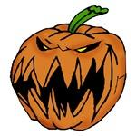 Spooky Pumpkin T-shirts and Baby Clothes