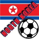 World Soccer North Korea T-shirts