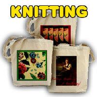 Big Sturdy Knitting Bags