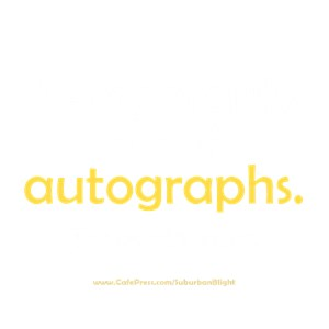 Out Of Autographs