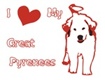 I Heart My Great Pyyrenees