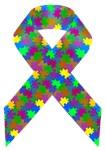 Puzzle (autism) Awareness Ribbon