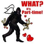 Part-time Cupid Bigfoot Valentine