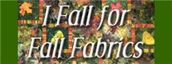 I Fall for Fall Fabric