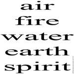 324.air fire water earth spirit..