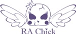 RA Chick Cracked Skull w/ Wings