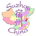 Suzhou, China Color Map