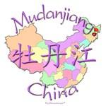 Mudanjiang Color Map, China