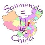Sanmenxia Color Map, China