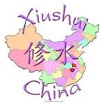 Xiushui Color Map, China