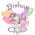 Bishan Color Map, China
