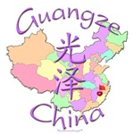 Guangze China Color Map