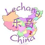 Lechang China Color Map