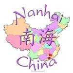 Nanhai China Color Map