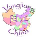 Yangjiang China Color Map