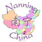 Nanning China Color Map