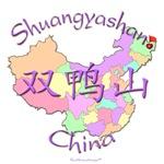 Shuangyashan Color Map, China