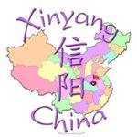 Xinyang Color Map, China