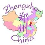 Zhengzhou Color Map, China
