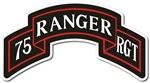 75th Ranger Regiment Scroll