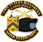 7th Cavalry - Beret Branch COA