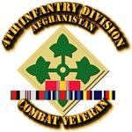 Army - 4th Infantry Div w Afghan Svc