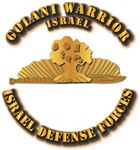 Israel - Miniature Golani Warrior Pin