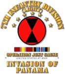 Just Cause - 7th Infantry Division w Svc Ribbons