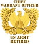 Army - Emblem - CWO Retired