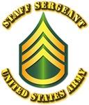 Army - Staff Sergeant E-6 w Text