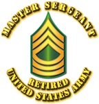 Army - Master Sergeant E-8 - Retired