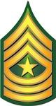 Army - Sergeant Major E-9